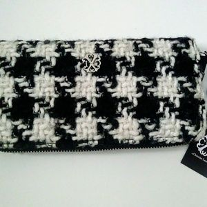 Christial Lacroix Black and White Clutch